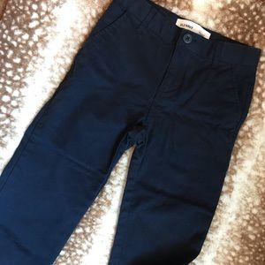 Boys Navy Khaki Pants